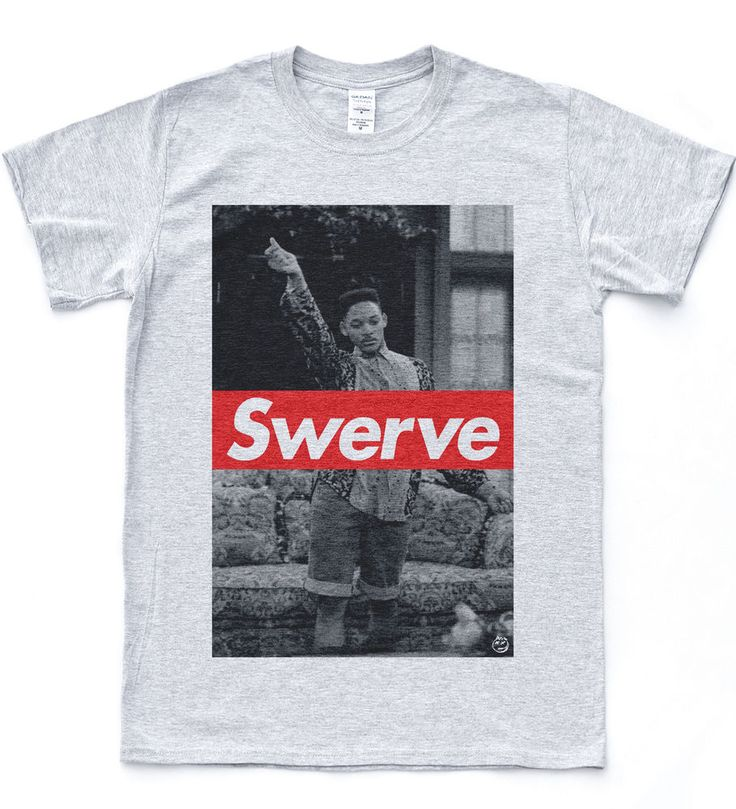 Swerve Swag Music Fresh Prince T Shirt 90's TV Will Smith Hipsta Hop Trill Sk8r #Unbranded