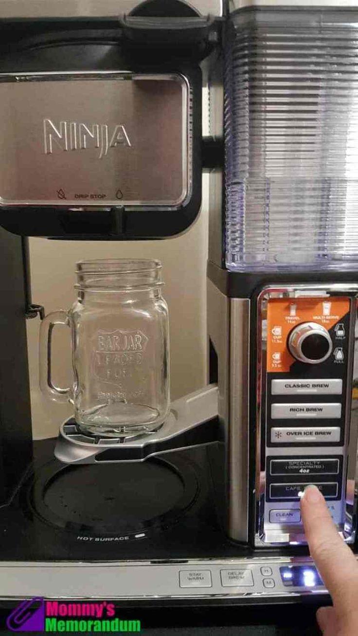 ninja specialty coffee maker mocha recipe