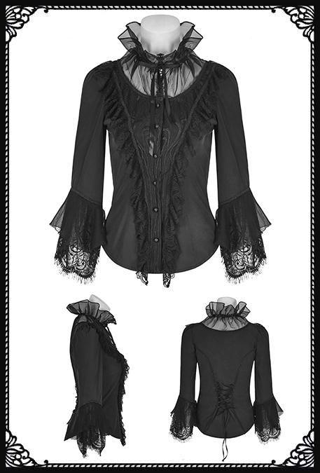 Punk Rave Azalea Gothic Shirt