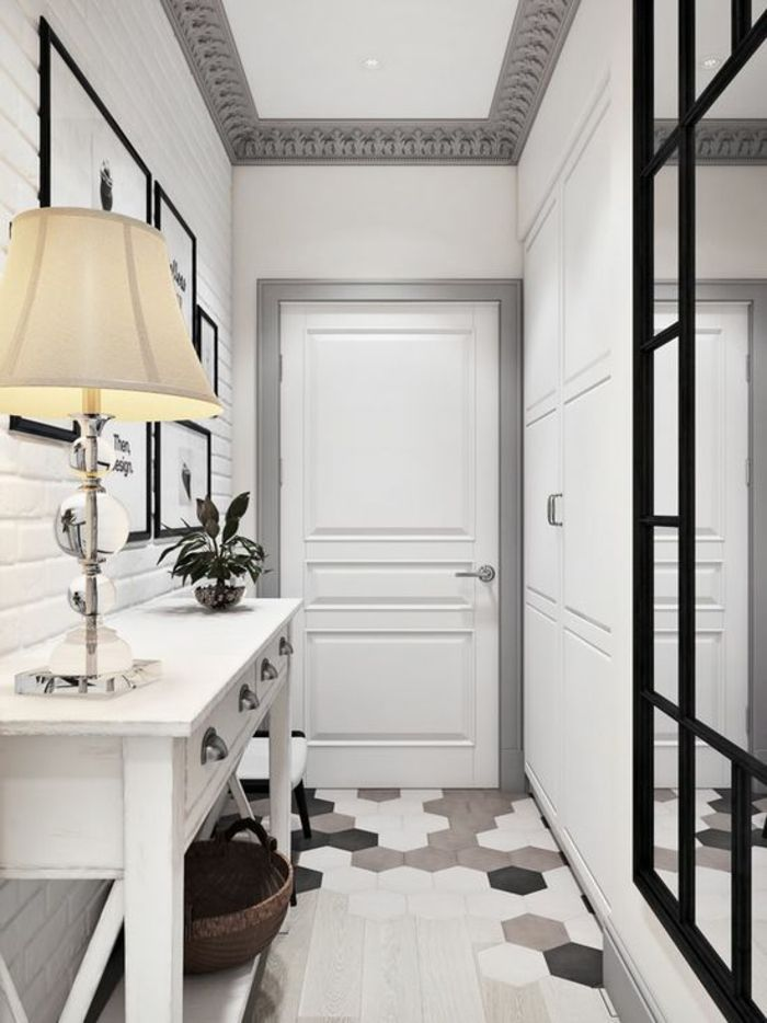 304 best entr e et couloir images on pinterest beige for Miroir couleur taupe