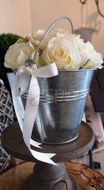 Aluminium Flower Bucket Hanging