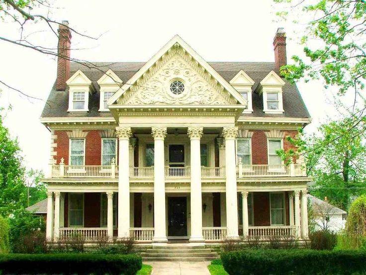 1902 Classical Revival   Muncie, IN   $350,000   Old House Dreams  LOVE