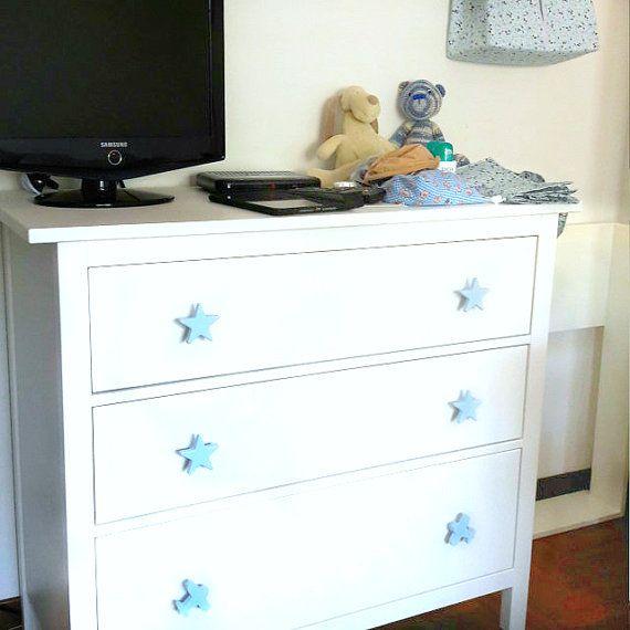 Childrens Drawer S Kids Door Pulls Dresser Handles Blue Car Nursery Baby Boy Decor