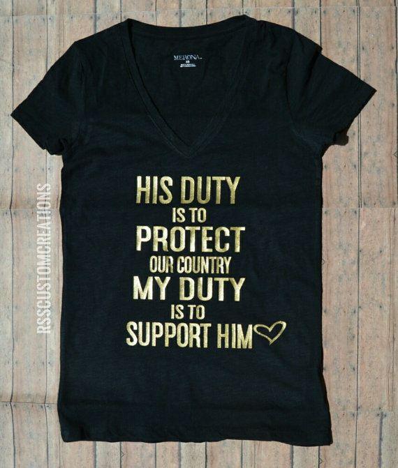 Esposa de militar camisa camisa de mamá militar camisa