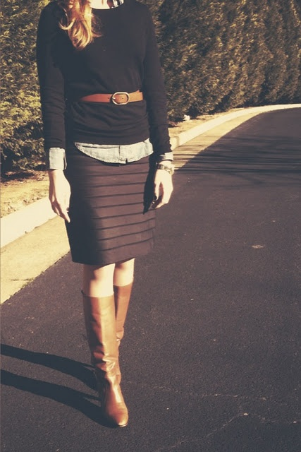 it's official... I need a striped skirt