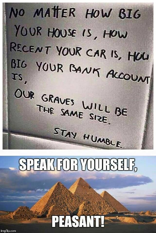 Laughing...cuz someone thought to use the pyramids to answer the white board. I lovzes the Internets.