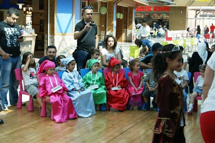 Kendileri küçük yetenekleri çok büyük olan çocuklar yine Anatolium Alışveriş Merkezi'nin Minitolium etkinlikleri kapsamındaki Drama Atöylesi'nde bir araya geldi.