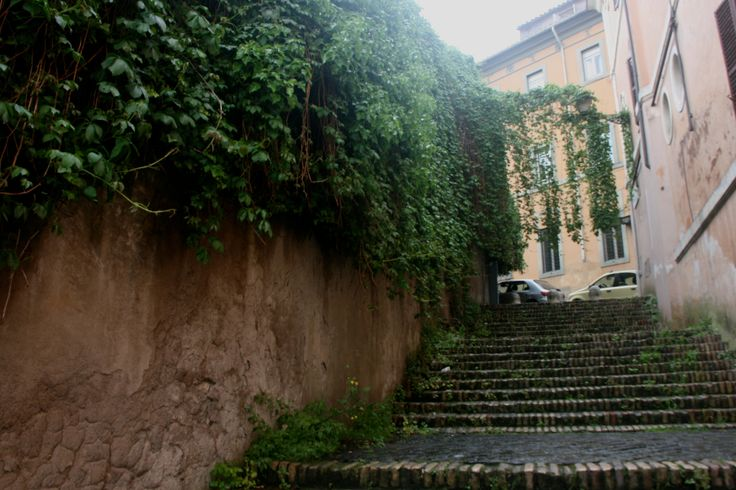 Stairway to Gianicolo Hill
