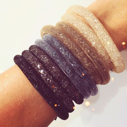 Swarovski Stardust Bracelets - so far I have two, can't wait to get some more. I love these so much