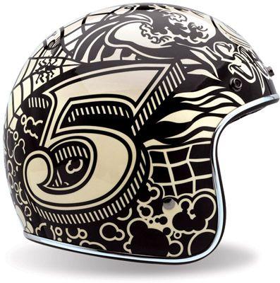 Bell Custom 500 Helmet Speed Soul  Limited Edition