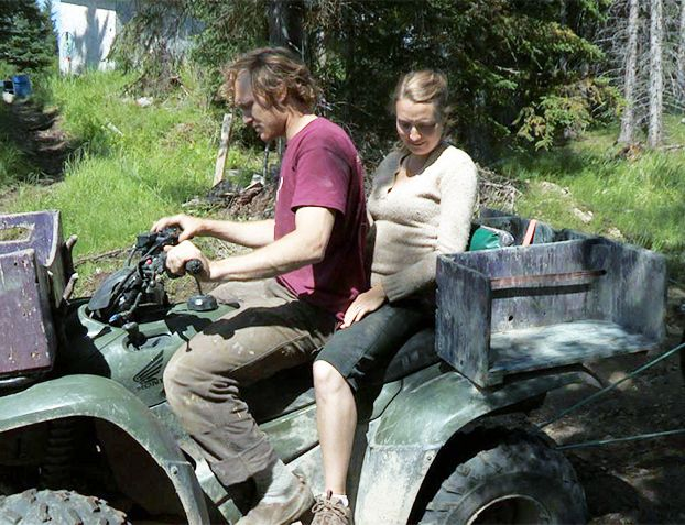 Eve From Alaska the Last Frontier | Eivin and Eve go for a ride on their ATV on a warm day in spring.