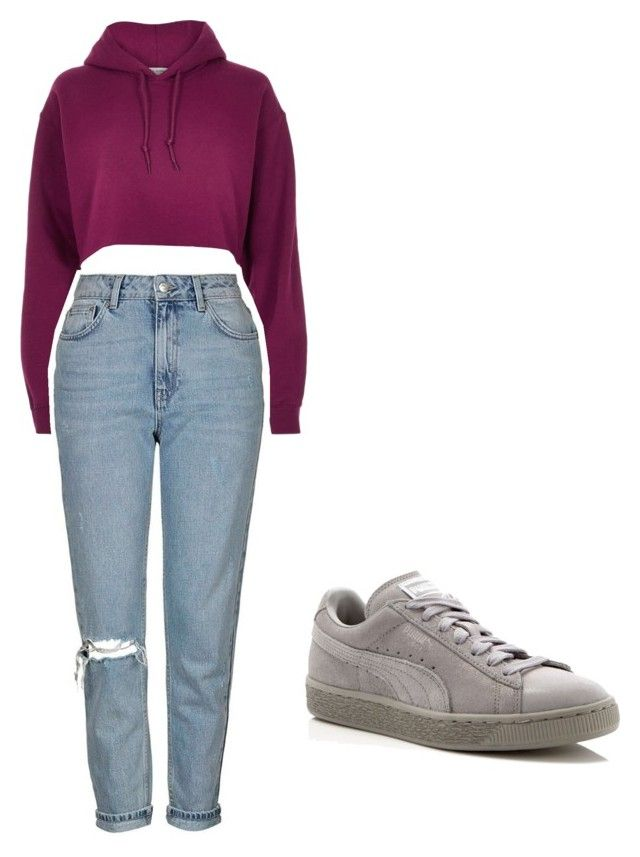 """""""Untitled #29"""" by jackeline1913 on Polyvore featuring River Island, Topshop and Puma"""