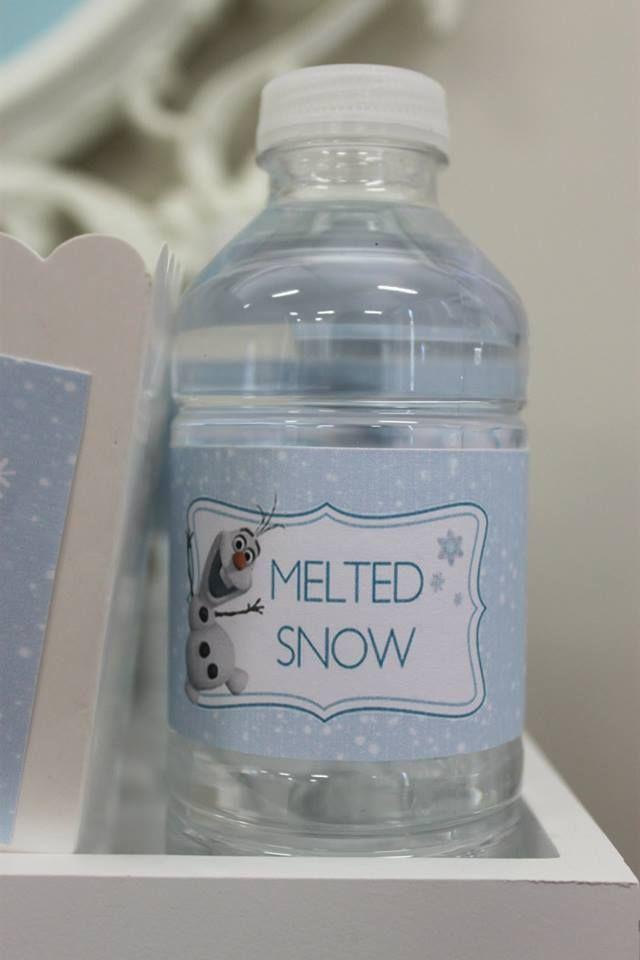 Little Wish Parties | Frozen Winter Wonderland Party | https://littlewishparties.com