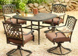How to pick the right patio furniture.