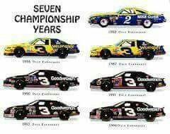 Dale Earnhardt Sr. 7 Time Champion.......