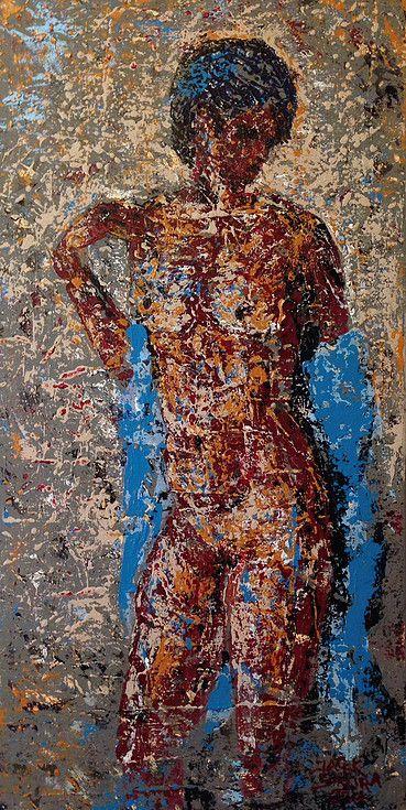 Jacek Sikora ( #Siccora ) NUDE, 2014, Acrylic on canvas, 60 x 30 x 3.5 cm #art #contemporary #fineart #canvas #abstract #abstractart #abstractpainting #abstraction #painting #contemporaryart #deep #design #loveart #visualartist #modern #buyart #abstract #impression
