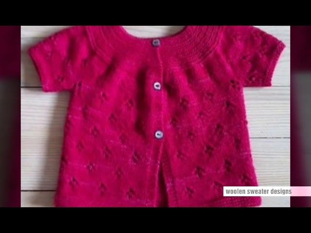 Woolen sweater designs for kids or baby in hindi | one colour sweater design for kids,sweater design