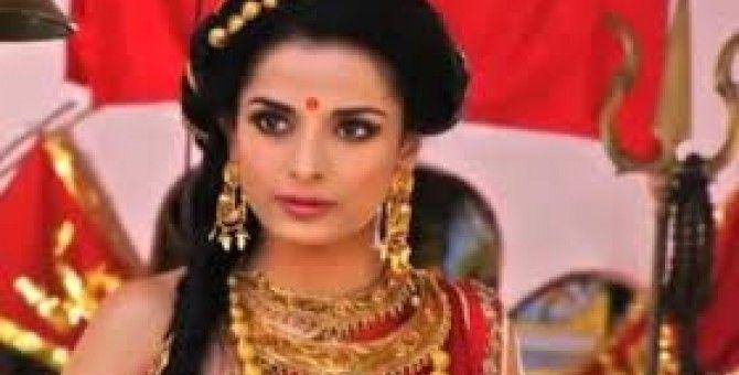 Pooja Sharma As Goddess Draupadi