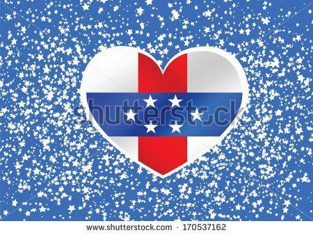 Netherlands Antilles flag  themes idea design