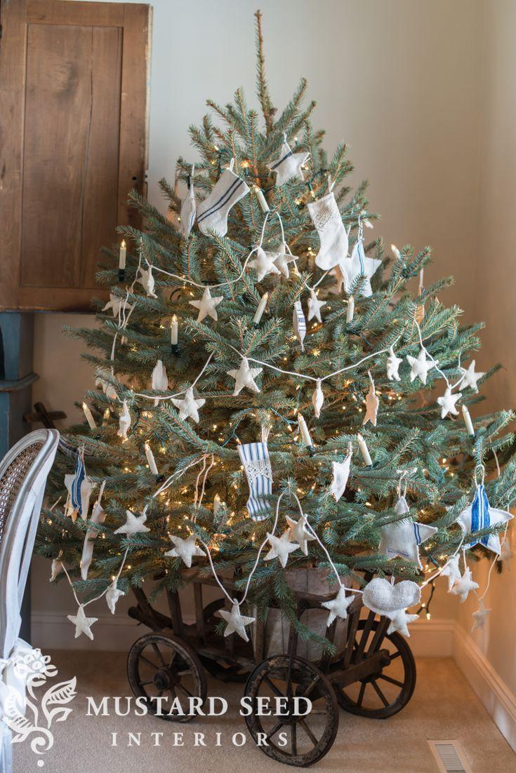 Dining Room Christmas Tree Miss Mustard Seed Diy Christmas Table Christmas Tree Decorations Rustic Christmas Tree