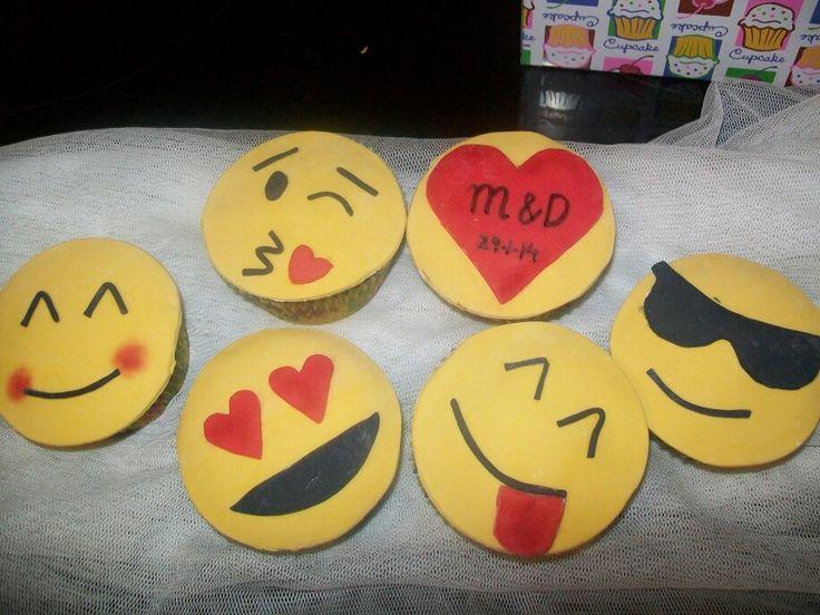 Cupcakes simbolos wasap