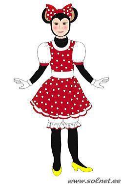 Карнавальный костюм минни