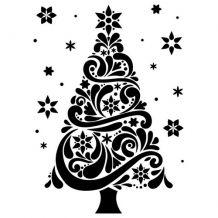 Darice - CHRISTMAS TREE - embossovací kapsa