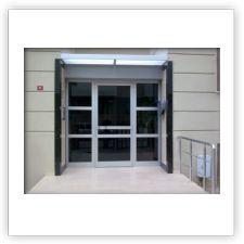 Alüminyum giriş kapıları - Antalya Cam Balkon Windoor