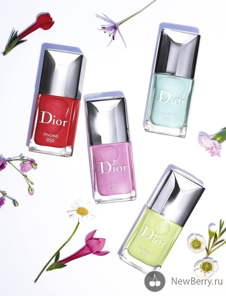 Коллекция косметики для макияжа Dior Glowing Gardens весна 2016