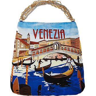 Venice Print Shoulder Bag