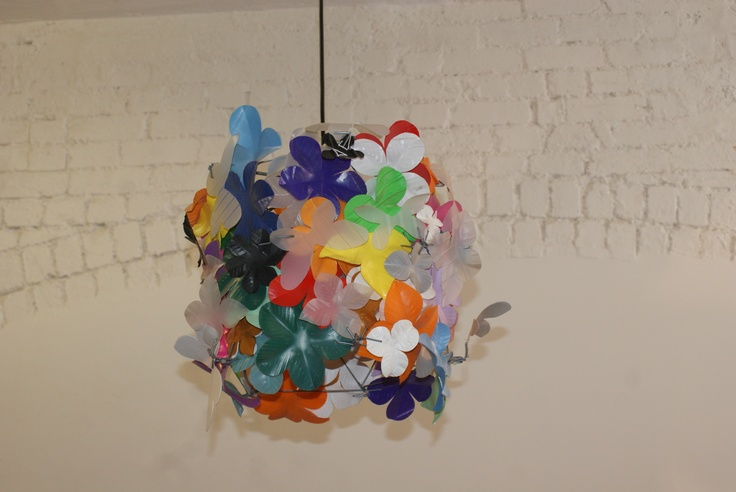 Wild and wacky lamp shades, full of personality and fun! Makes me smile xx
