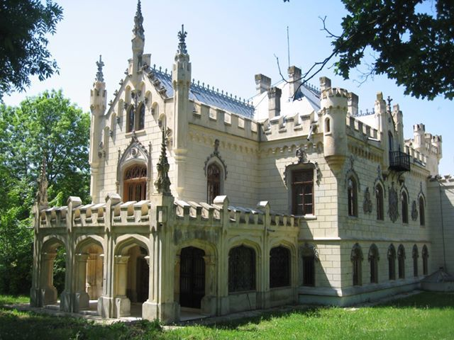 Sturdza Castle. Built between 1880-1904 by George Sturdza and his wife, Maria, in the village Miclăuşeni.