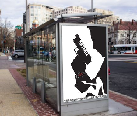 James Bond Movie Poster Design   Diana-Joanne Soujaa Graphic & Web designer ePortfolio based in Montreal
