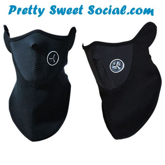 1 pcs Half Face Winter Sports Mask