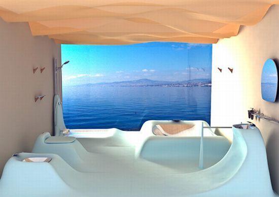 Cool Bathrooms Entrancing Decorating Inspiration