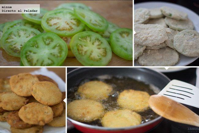 Tomates verdes fritos - 3
