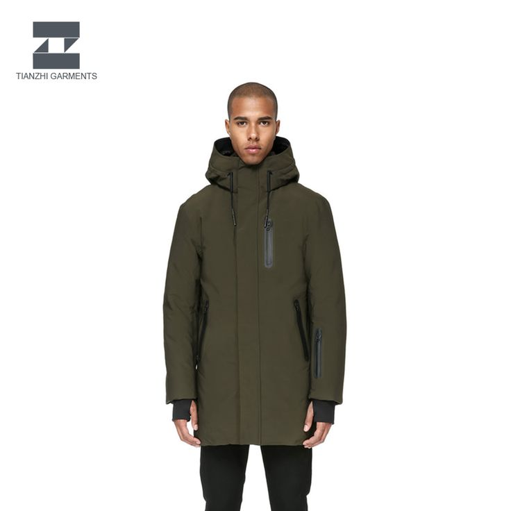 Hot sale stock winter foldable men clothing down jacket