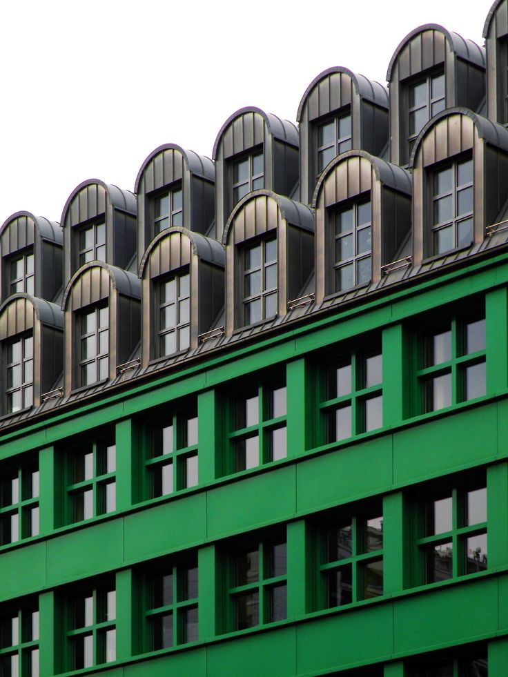 """Quartier Schützenstrasse"" - Berlin Architect: Aldo Rossi"
