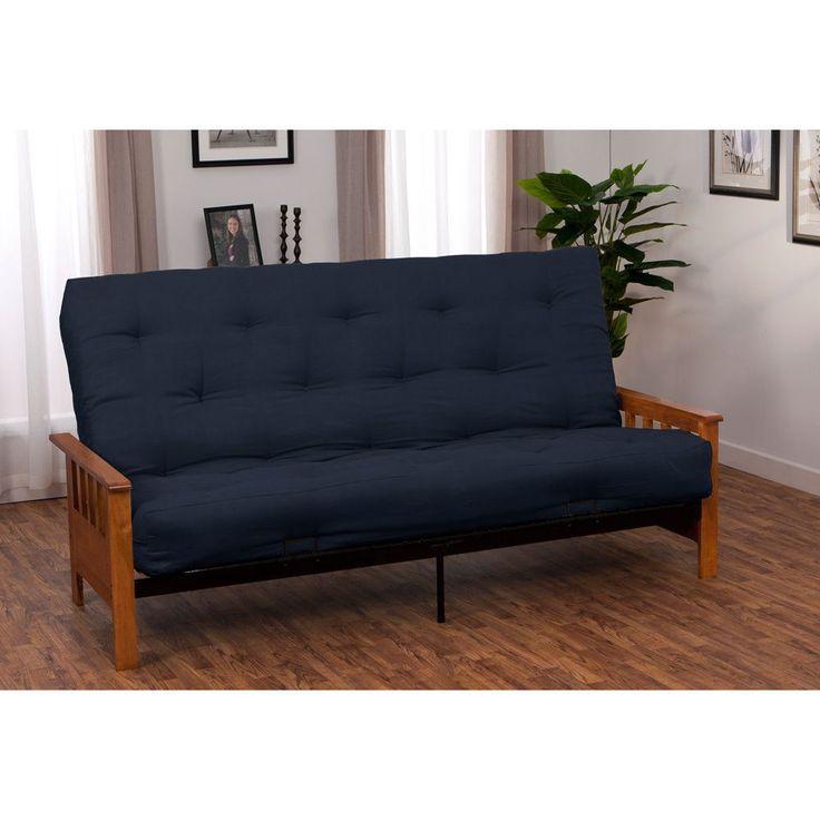 provo queensize inner spring mattress futon set drawer pair only queensize walnut brown