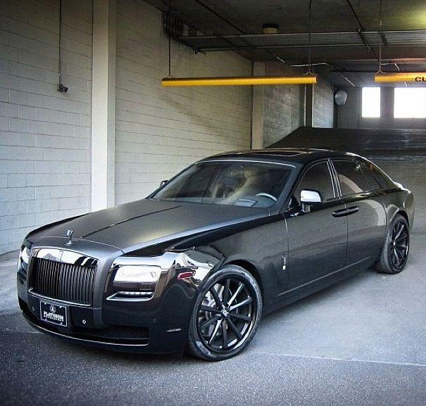 Rolls Royce Ghost! I want it in black though