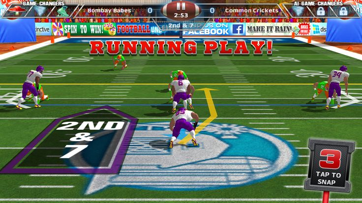 The hard hitting AMERICAN FOOTBALL game of the year is here, featuring fierce running back JAMAAL CHARLES! http://fnky.link/unleashed