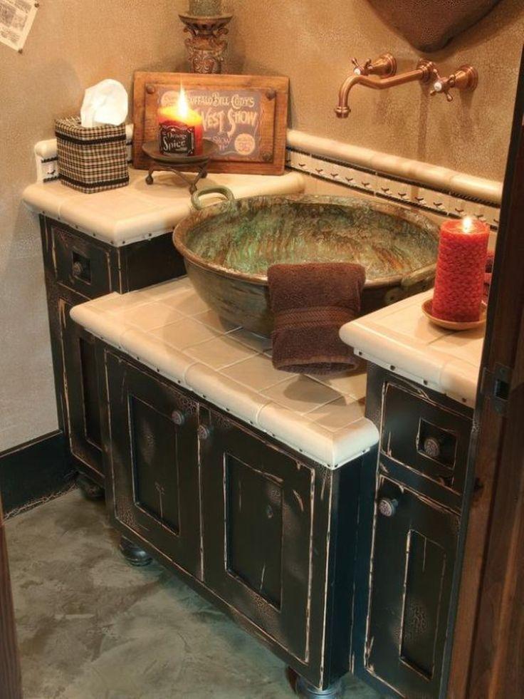 diy distressed bathroom vanity%0A Interior Diy Bathroom Vanity Plus Tile Walls Country Vanities Rustic Design  Unique Sette Ideas Distressed Walnut Cabinet Sink Wall Mount Faucets