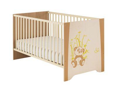 Lit bébé 70x140 cm Kylan Coloris beige prix promo Conforama 175.80 € TTC