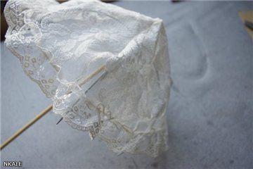 NKALE :-) В каждой игрушке сердце: МК от Nkale : Кружевной зонтик
