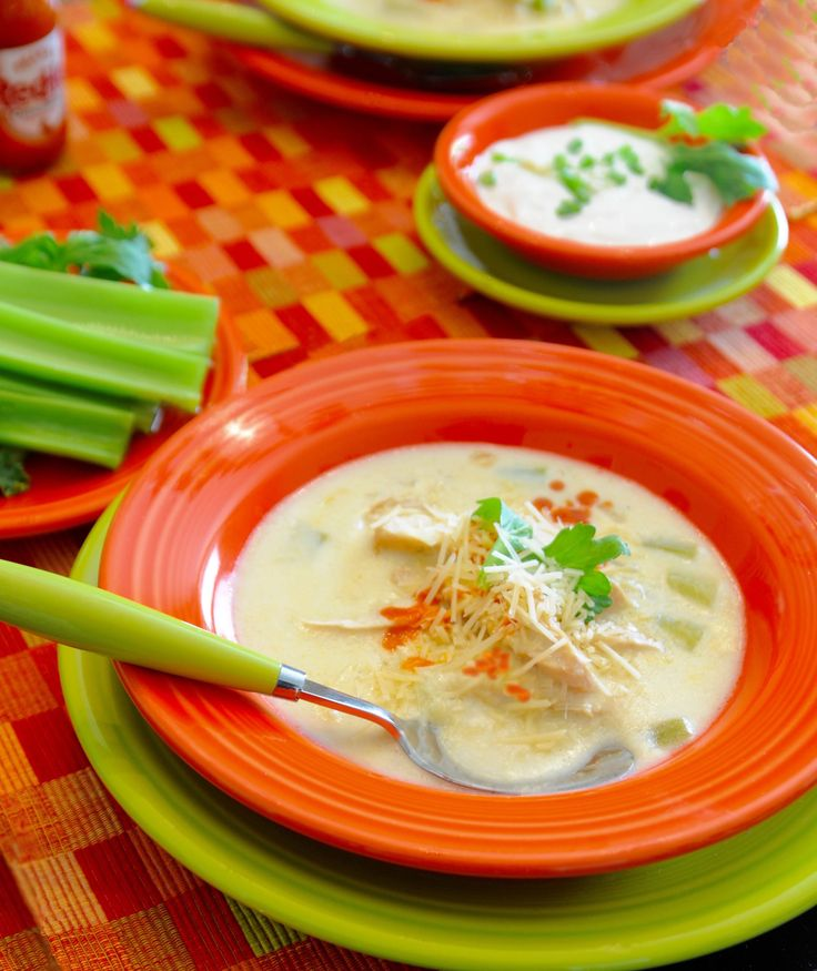 January 20th Is National Cheese Lovers Day. Here's our favorite cheesy soup- Buffalo Chicken Soup.
