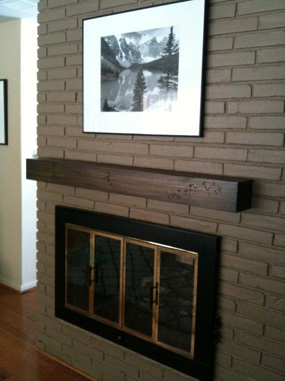modern rustic fireplace mantel 3ft to 7ft long in 2019 products rh pinterest com Fireplace Mantel Shelves Product Floating Fireplace Mantel Designs