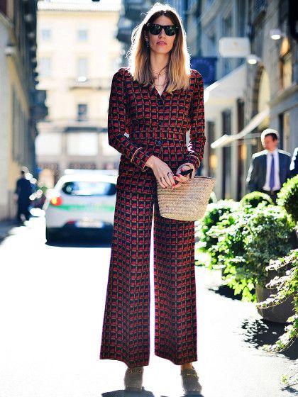 Wenn die deutsche Mode-Ikone Veronika Heilbrunner ein Teil durch die Straßen von Mailandträgt, dann wirdes A: sofort auf einem Streetstyle-Foto festgehalten und B: sofort Trend.