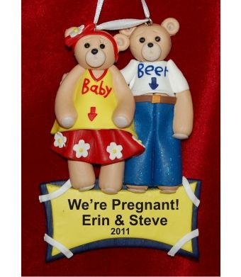 23 best Pregnant and Expecting Ornaments images on Pinterest