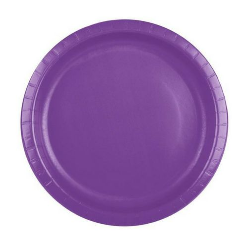 Bright Purple Plates