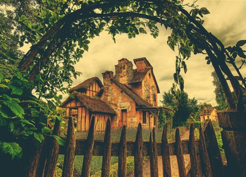 Home.: Trey Ratcliff, French Country Home, Cottages Looks, Versail France, Mary Antoinette, The Secret Gardens, French Cottages, Photo, Little Cottages